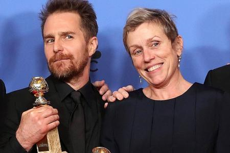 Three Billboards wins big as Golden Globes powers through sex scandal