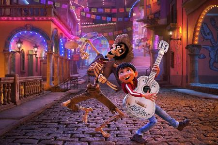 Coco film strikes a chord in Mexico guitar town