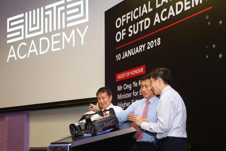SUTD to get up to $75 million from MOE to bolster growth plans