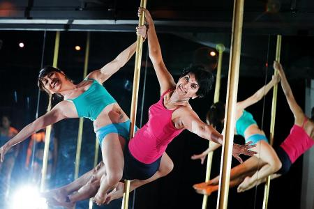 Pole-dancing breast cancer survivors to perform on Saturday