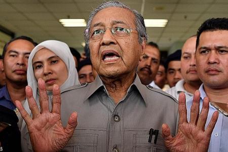 Mahathir denied permission to visit Anwar in hospital