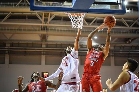 Slingers avenge loss to Alab