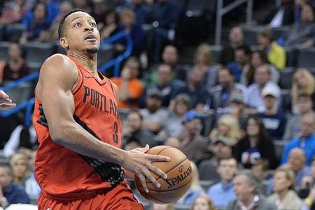 McCollum stars as Trail Blazers leapfrog Thunder into fifth spot