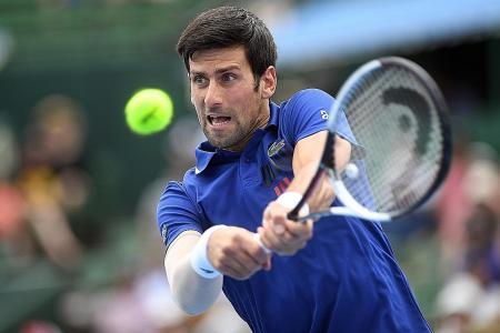 Djokovic: Feels great to be back