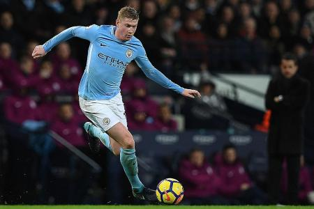 De Bruyne: We don't care about poor Anfield record