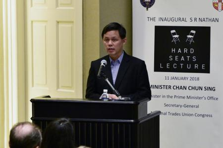 Leaders must be upfront with people, says Minister Chan Chun Sing