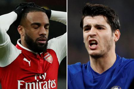 Toothless Chelsea and Blunt Arsenal drowning in striker woes
