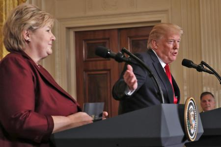 Trump says US could 'conceivably' return to Paris climate deal