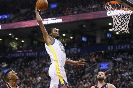 Warriors set league-best road record