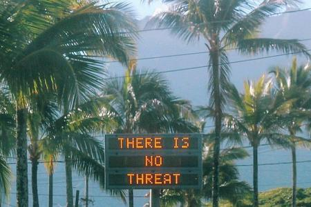 Hawaii panics after false alert on incoming missile