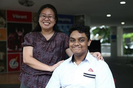 Boy with profound hearing loss gets early admission into poly course