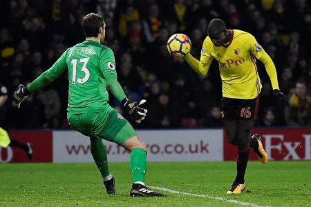 VAR would have ruled out our equaliser, says Watford's Deeney
