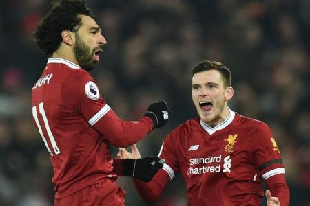 Liverpool inflict season's first EPL defeat on Man City