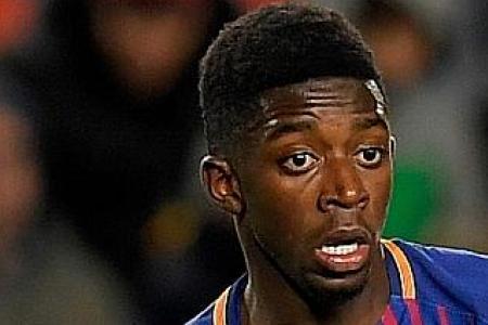Barcelona dealt new Dembele injury blow