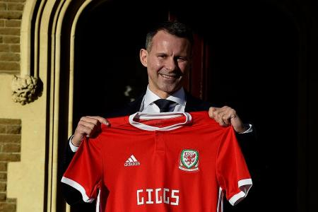 Giggs named Wales manager, handed four-year contract