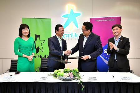 SPH, StarHub renew and expand tie-up