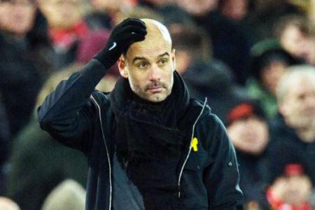 Guardiola wants Man City players to learn from defeat by Liverpool