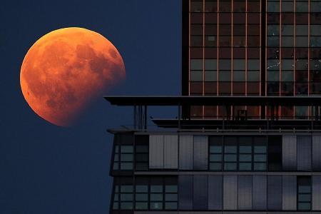 Witness the phenomenal 'Super Blue Blood Moon' on January 31