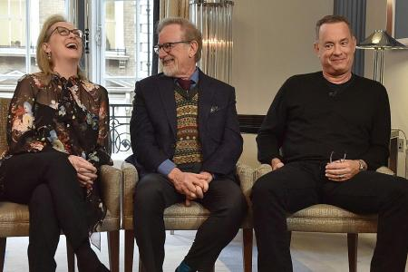 Meryl Streep stepped up her game for The Post, Spielberg and Hanks