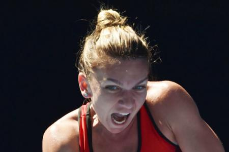 Top seed Halep survives scare