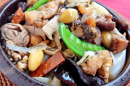 Hed Chef: Mixed vegetable stew