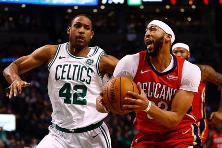 Anthony Davis brilliant as Pelicans stun Celtics