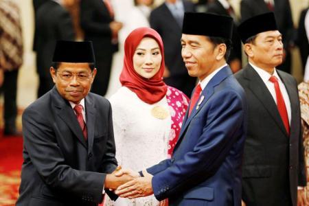 Jokowi names another senior Golkar member to his Cabinet