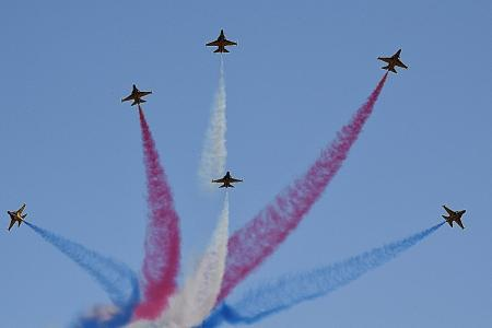 Asia's premier aerobatic teams to wow spectators at Singapore Airshow