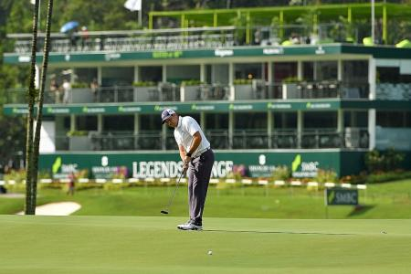 Garcia off to flying start at SMBC Singapore Open
