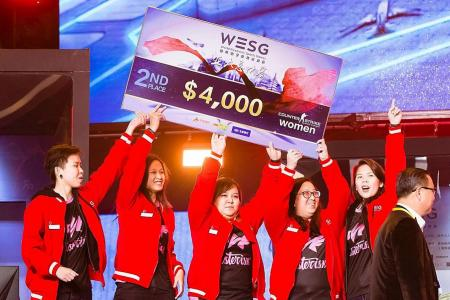 Singapore's first all-women gamers enter world finals