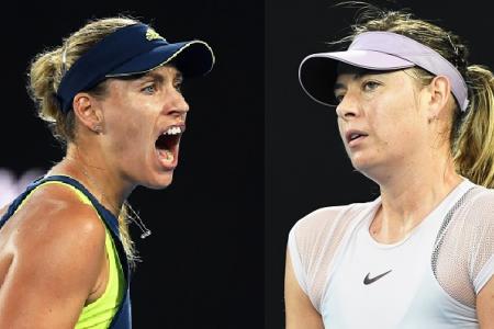 Kerber knocks out Sharapova