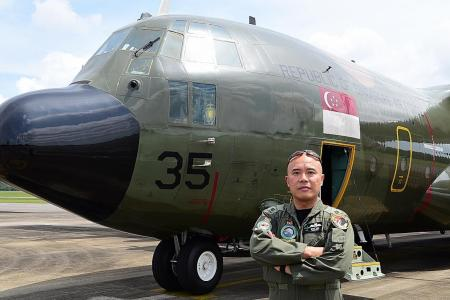 They flew aid into Nepal after quake