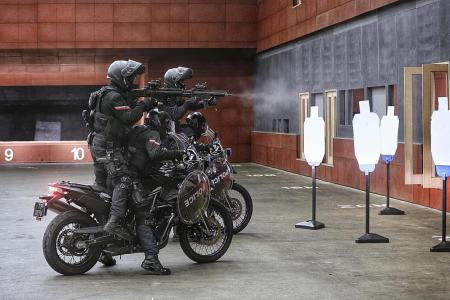 If terrorists strike, these elite cops will ride into battle