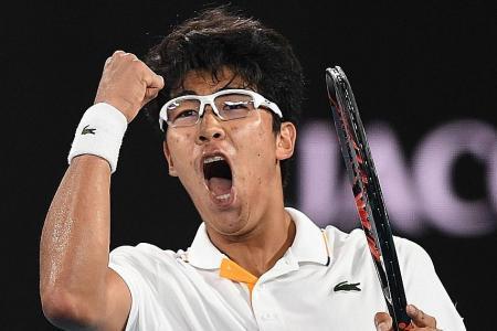Australian Open upset: No Djok, South Korean Chung continues charge