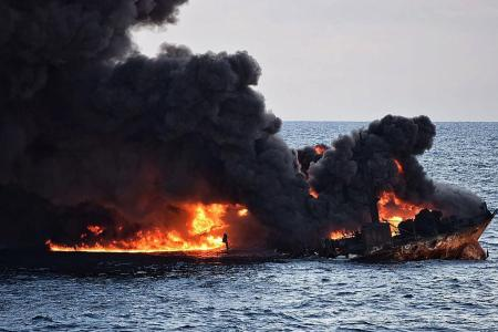 Oil slick off China coast trebles in size: Official
