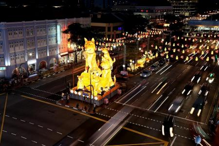 Lanterns for annual CNY light-up raise some eyebrows