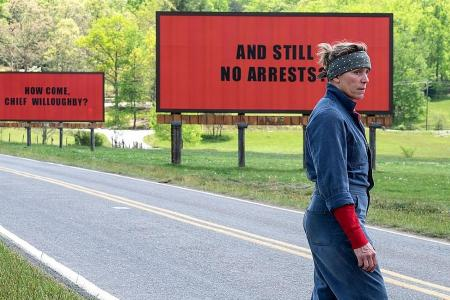 Movie review: Three Billboards Outside Ebbing, Missouri