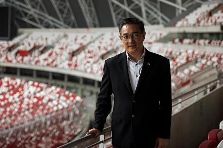 New Sports Hub CEO Oon works to revive old Kallang magic