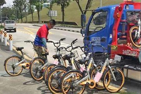 62 dockless bicycles impounded by LTA