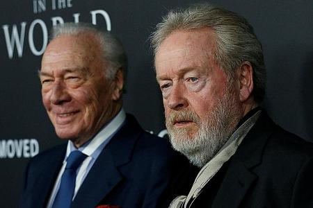 Reshooting 22 scenes in 9 days no problem for director Ridley Scott
