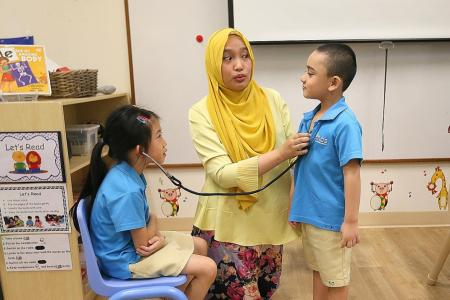 Play-based learning, priority admission at MOE Kindergartens