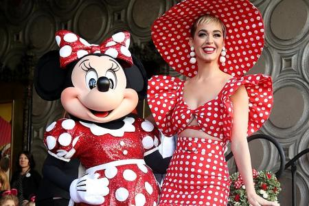 Minnie Mouse honoured with Hollywood star after 90 years in showbiz