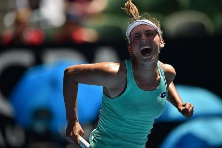 Clijsters inspires Mertens to hit Australian Open heights