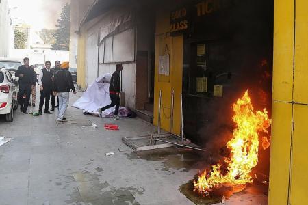 Padmaavat row: Protesters attacks school bus in Gurugram