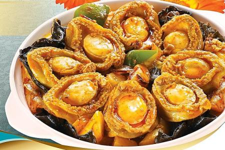 Celebrate CNY with a Korean twist to baby abalones