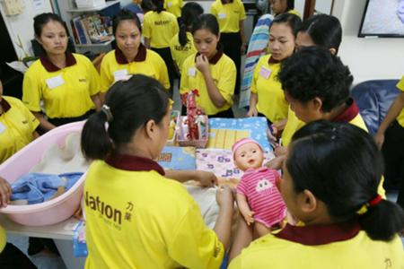 $6k bond needed for Indonesian maids from Feb 1