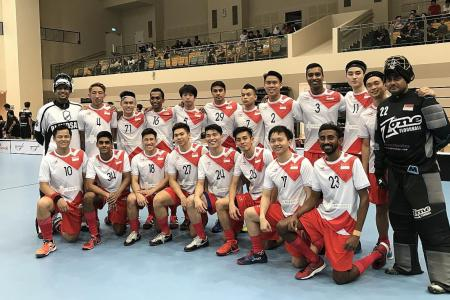 Singapore qualify for World Floorball Championship
