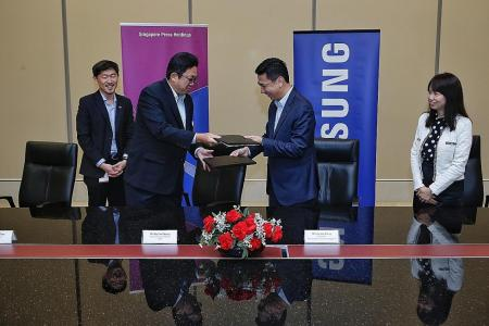 SPH inks deal with Samsung to push digital frontiers