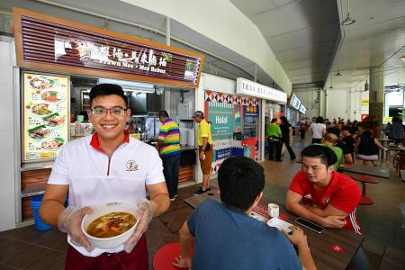'Hipster' Pasir Ris hawker centre lets young hawkers grow