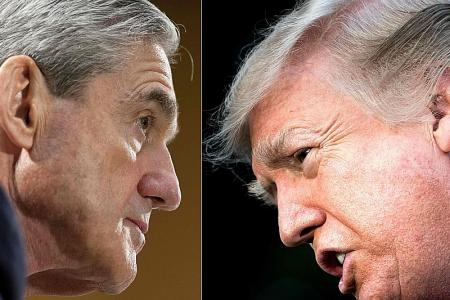 Trump says he is willing to be interviewed under oath by Mueller